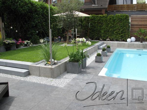 reihenhausgarten modern – godsriddle, Garten seite